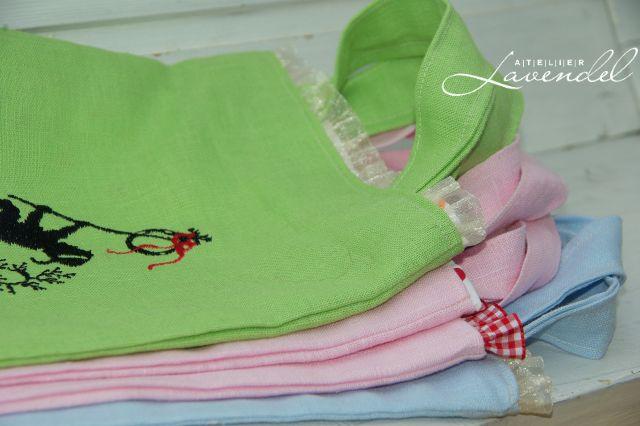 handmade tote bags by Atelier Lavendel