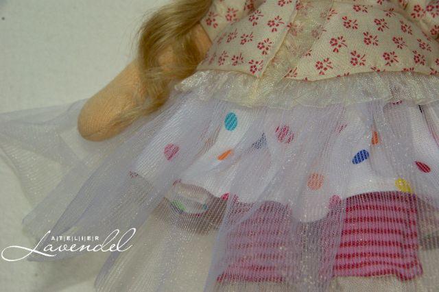 Waldorf fairy doll: meet Honey, Waldorf fairy doll. One of a kind handmade dolls by Atelier Lavendel. Handmade in Germany