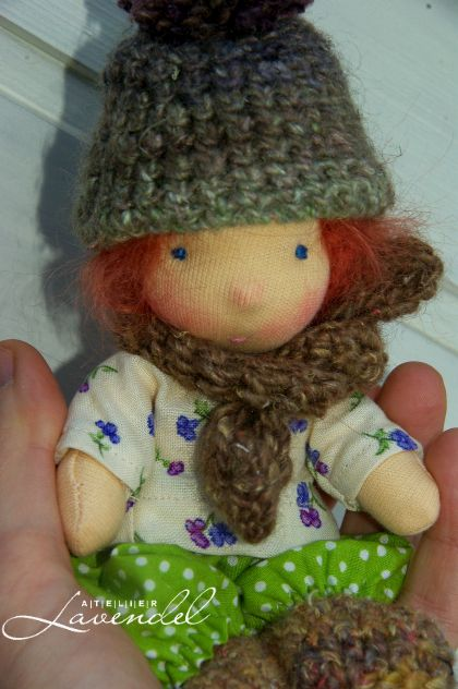 Waldorf toys by Atelier Lavendel. Meet Bobby! He is a little cuddly fellow, ECO friendly, organic. Handmade in Germany