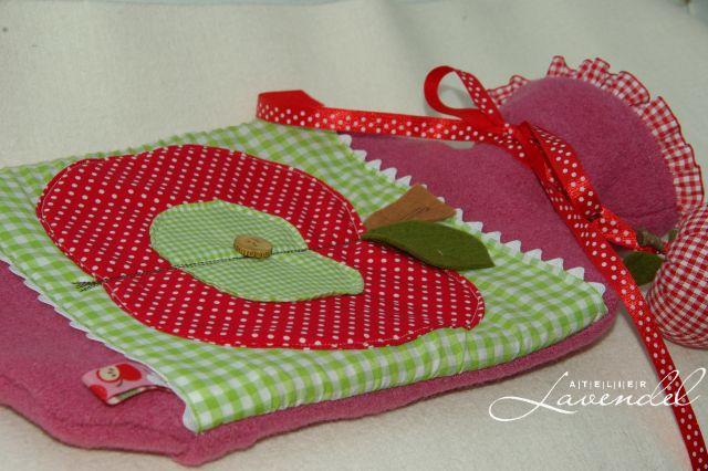Handmade hot water bottle covers by Atelier Lavendel. ECO friendly.Handmade in Germany.