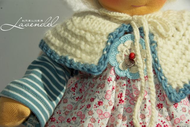 Handmade Waldorf Doll clothes by Atelier Lavendel
