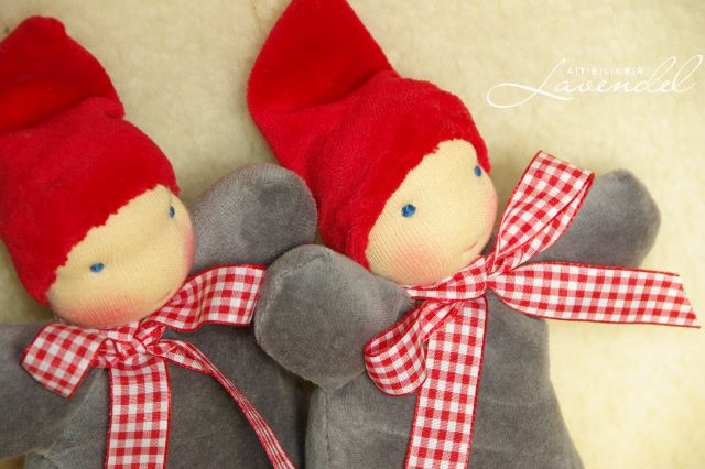 Handmade Waldorf Gnomes by Atelier Lavendel