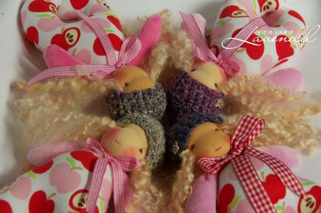 Handmade Pocket Dolls by Atelier Lavendel
