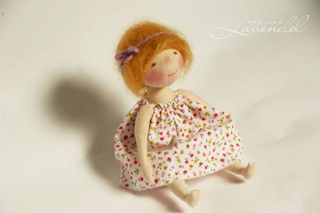 ooak cloth dolls by Atelier Lavendel