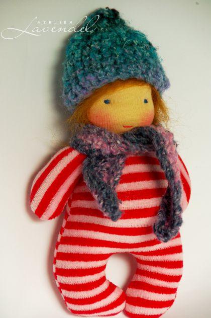 Waldorf baby dolls by Atelier Lavendel