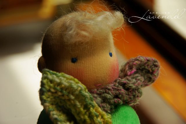 give-away waldorf doll by Atelier Lavendel