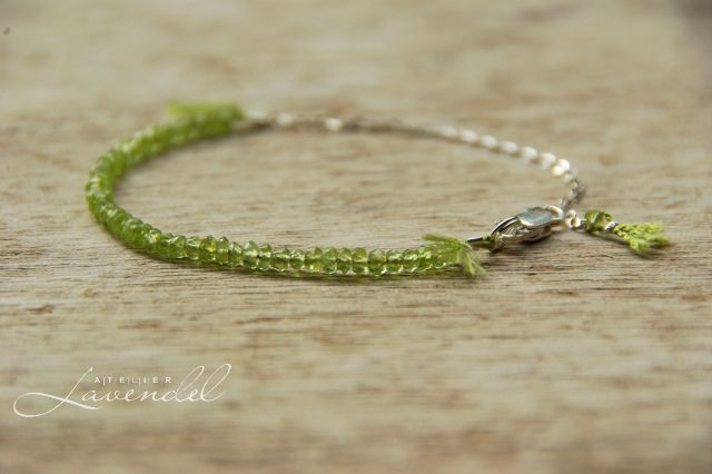 handmade ombre gemstone jewellery by Atelier Lavendel