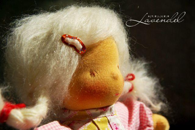 Handmade Waldorf Dolls for sale. Handmade by Atelier Lavendel.