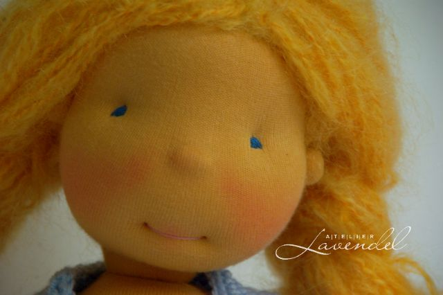 Waldorf dolls etsy. Handmade by Atelier Lavendel.