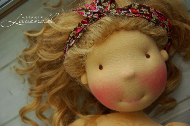 Waldorf dolls by Atelier Lavendel. Handmade in Germany.