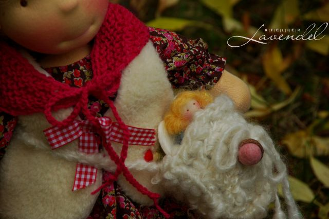 RTG cloth dolls by Atelier Lavendel. Handmade in Germany.