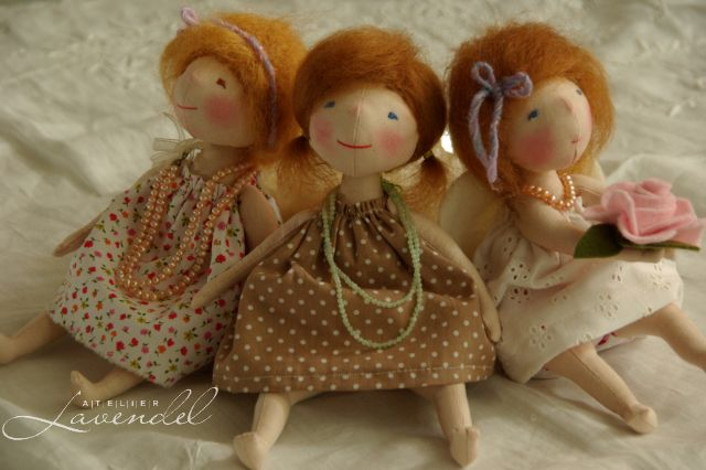 one of a kind dolls by Atelier Lavendel