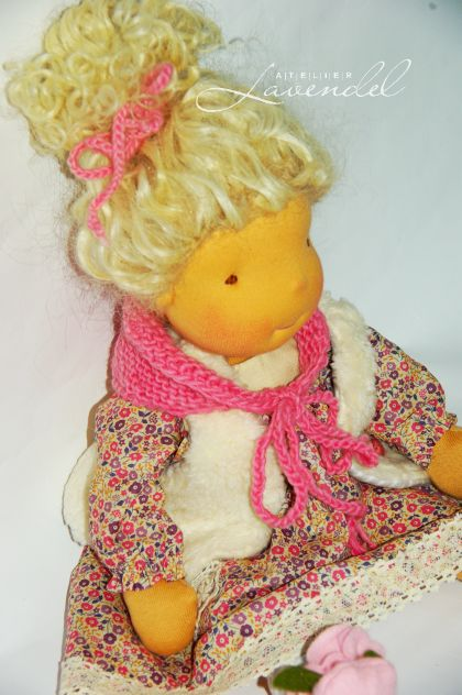 Waldorf dolls for sale. Handmade by Atelier Lavendel.