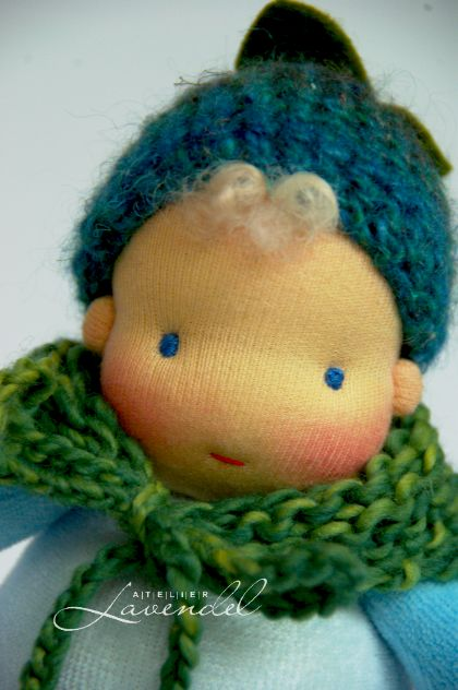 Tommy is a handmade baby doll, made by Atelier Lavendel. Handmade in Germany.