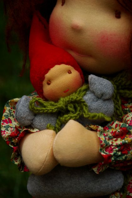 Waldorf dolls for sale by Atelier Lavendel. Handmade in Germany.