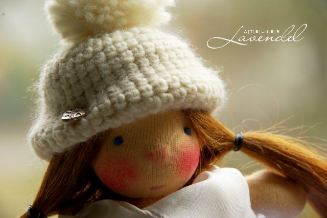 handcrafted Waldorf dolls sale by Atelier Lavendel