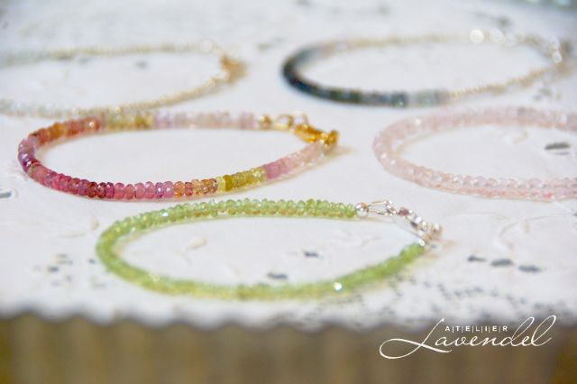 Handmade gemstones bracelet give-away. Handmade in Germany.