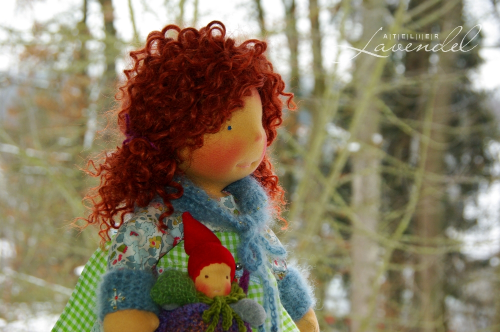 organic cloth doll by Atelier Lavendel are made with all natural, organic materials and lots of love and care.