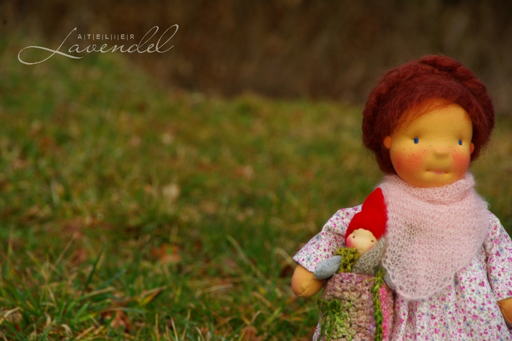 Artist made natural fiber dolls, handcrafted by Atelier Lavendel are lovingly using high quality organic natural materials. Handmade in Germany.
