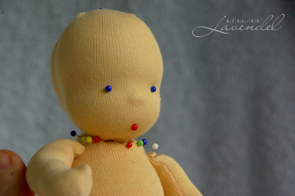 Waldorf doll making classes by Atelier Lavendel: make your very own Classic Style Waldorf doll, using professional patterns and all natural organic materials!