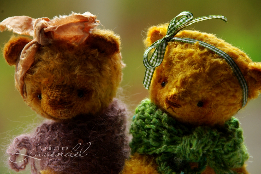 Artist bears by Atelier Lavendel are made with lots of love and care, using natural, high quality materials and original designs. Handmade in Germany.