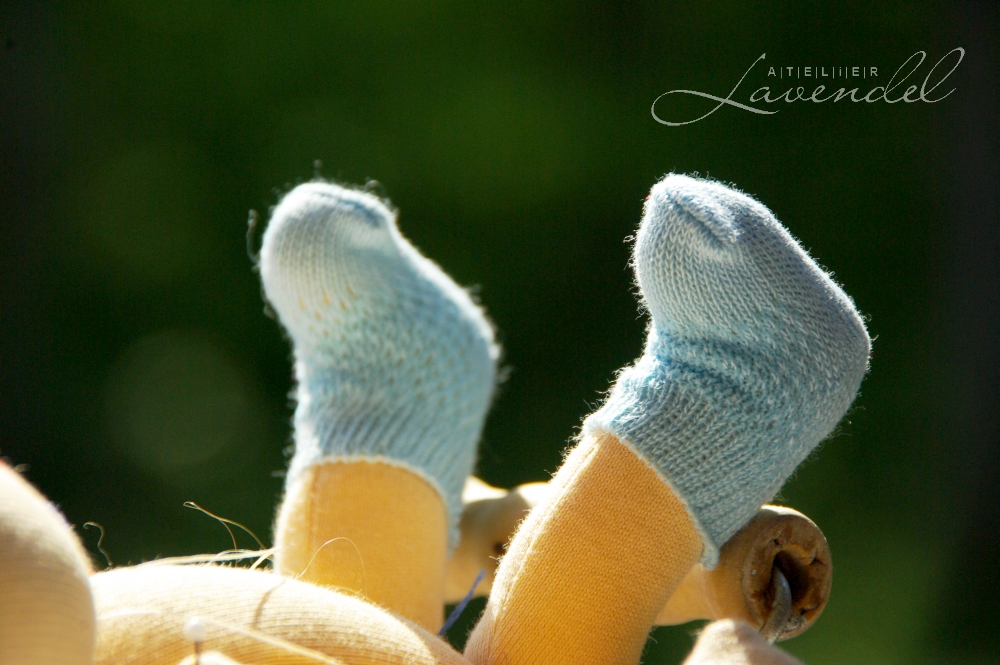 Little Waldorf dolls by Atelier Lavendel are made wit lots of love and care, using all natural organic materials.