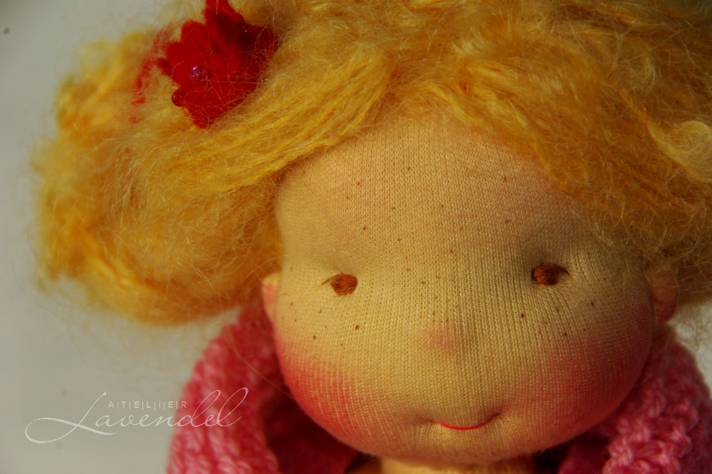Waldorf princess doll: meet Mona, designed and lovingly handmade using best quality, natural organic materials.