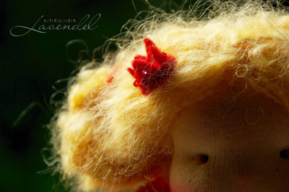 Waldorf princess doll: meet Mona, designed and lovingly handmade using best quality, natural organic materials.