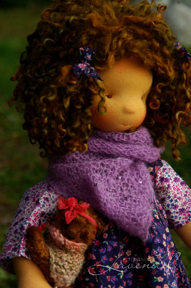 ooak waldorf inspired dolls by Atelier Lavendel are made with lots of love and attention to detail, using high quality, natural organic materials.