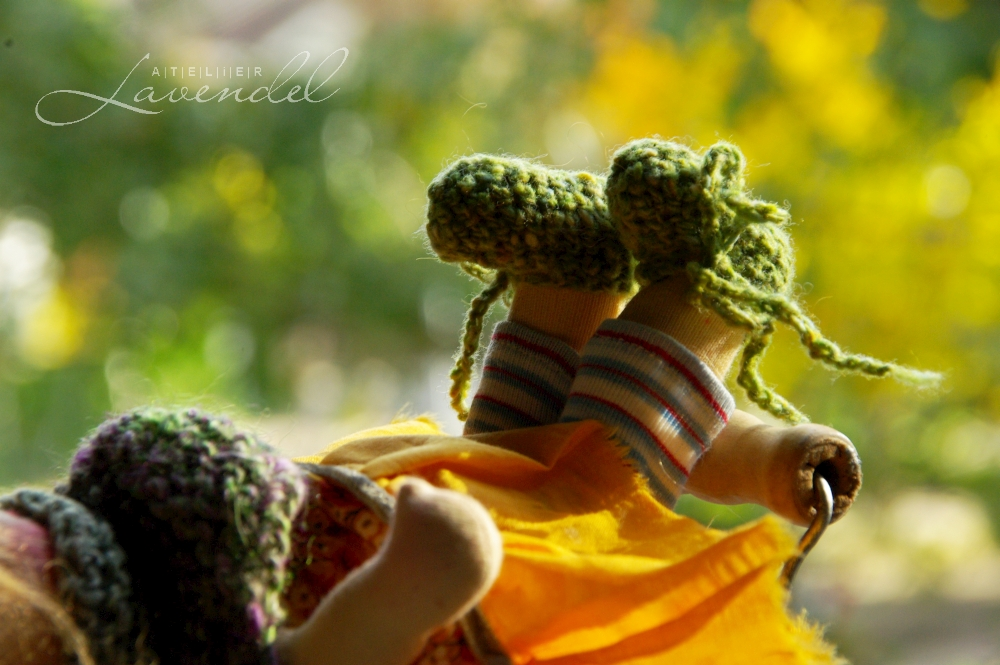 handmade ooak cuddle dolls: meet Agness by Atelier Lavendel, Waldorf inspired, handmade with love and care, using all natural materials.