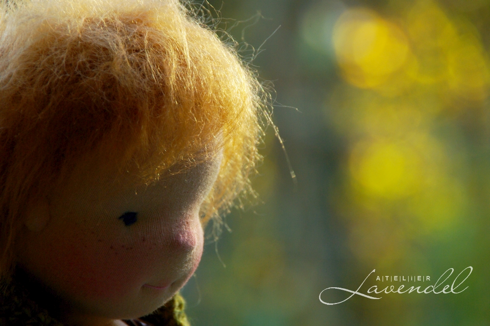 ooak Waldorf doll by Atelier Lavendel, meet Lottie! Standing 16inches (41cm), handmade by Atelier Lavendel with lots of  love and of care.