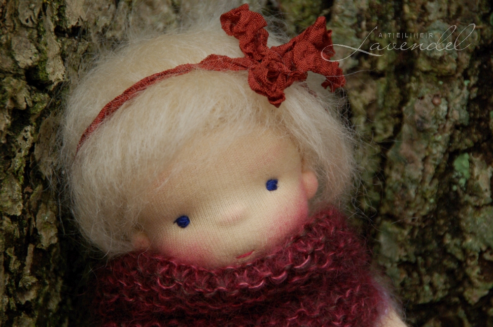 waldorf dolls for the open imaginative play: OOAK all natural Waldorf inspired dolls by Atelier Lavendel. Safe and fun. Handmade in Germany.