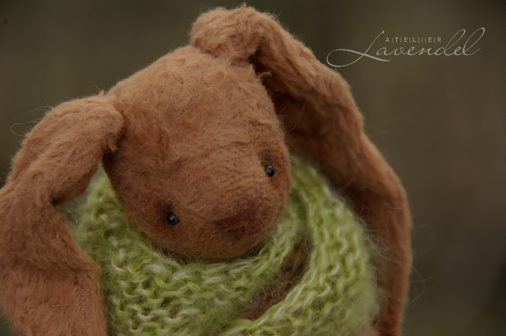Meet Nele! She is an artist Easter bunny, livingly handmade by Atelier Lavendel. OOAK. ECO friendly.