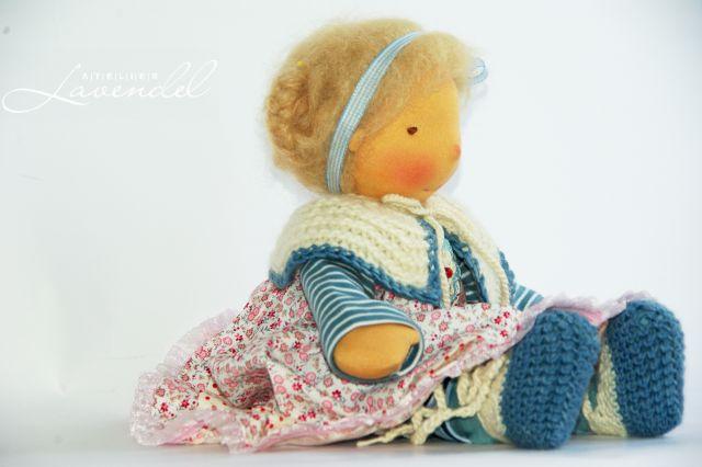 handgefertigte Waldorfpuppen von Atelier Lavendel