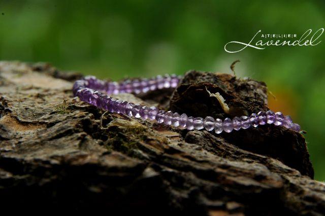 Geniune Amethyst Bracelet by Atelier Lavendel