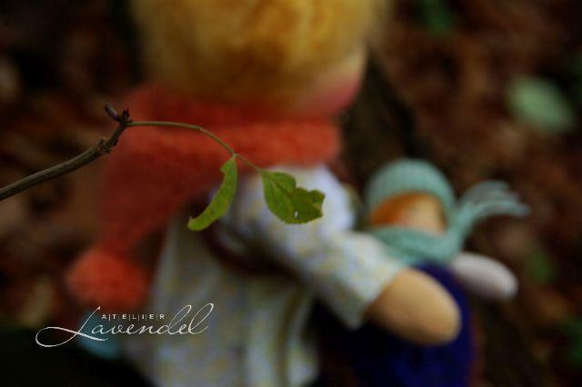 handgemachte Waldorfpuppe by Atelier Lavendel
