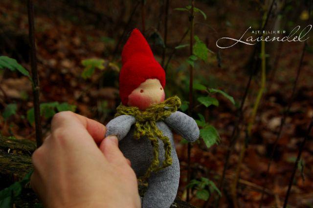 Waldorf gnome dolls by AtelierLavendel