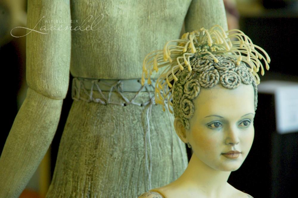 Handmade OOAK Art Doll: International Doll Festival in Neustadt 2016
