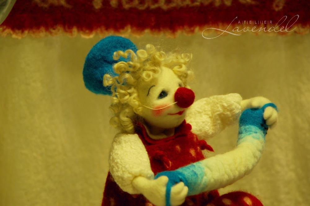 Handmade OOAK Art Doll: International Doll Festival in Neustadt 2016: art doll by Sandy Fukala