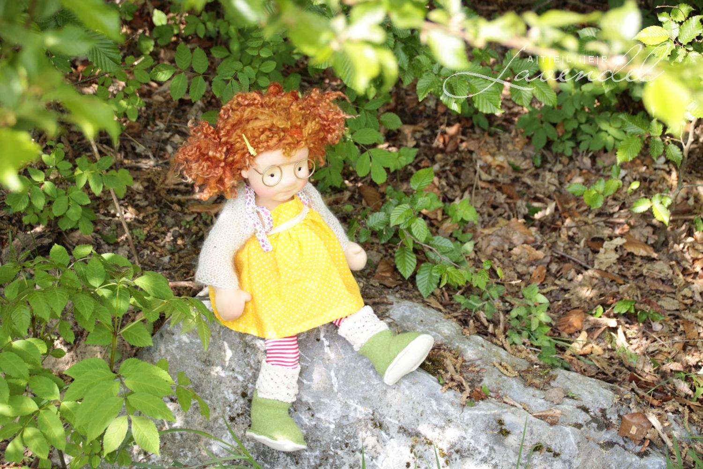 ooak natural fiber art dolls by Atelier Lavendel. Natural best quality organic materials, original designs. Handmade in Germany.