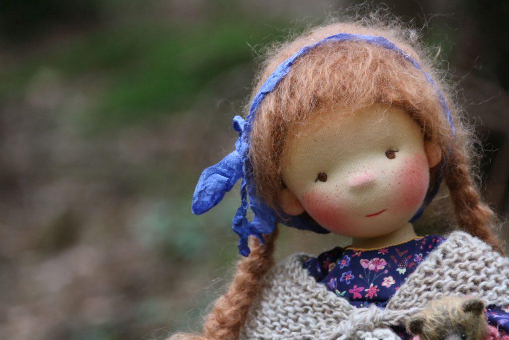 Atelier Lavendel natural fiber doll