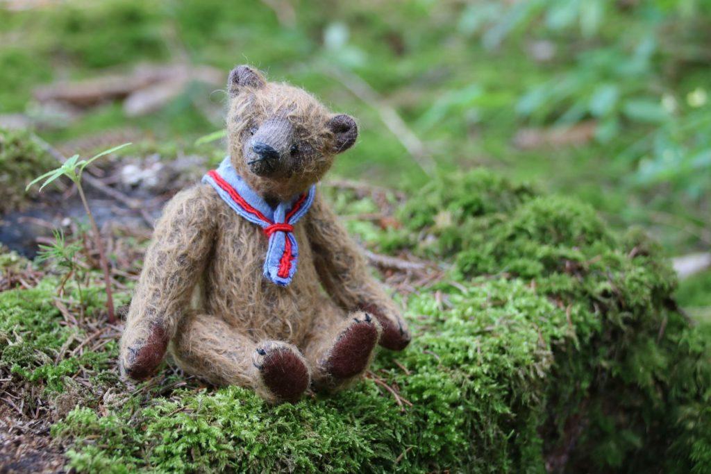 Mohair Artist Bear by Atelier Lavendel