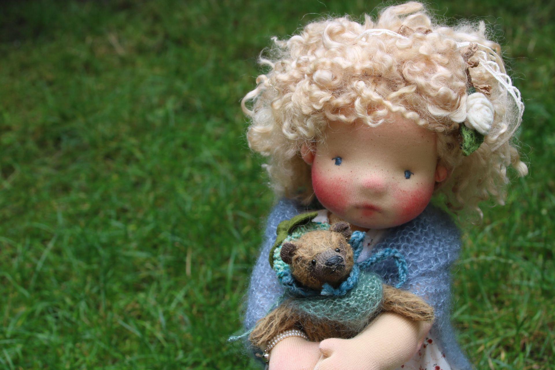 ooak doll, designed an hanmade by Atelier Lavendel
